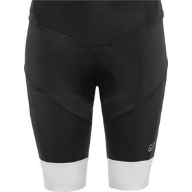 GORE WEAR C5 - Culotte corto sin tirantes Mujer - blanco/negro